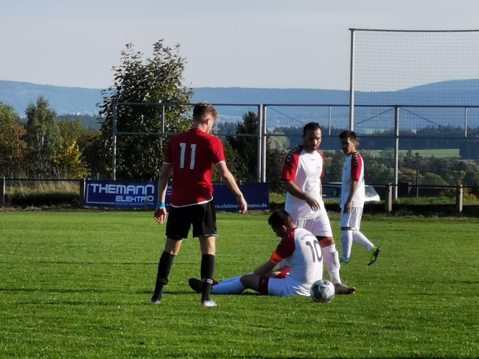 Die Rothosen gewinnen das Derby gegen Münchberg!