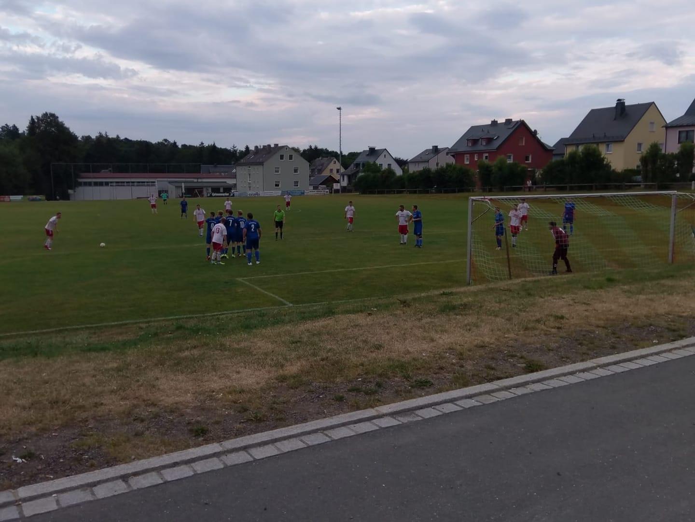 Unentschieden im zweiten Testspiel gegen den FC Konradsreuth