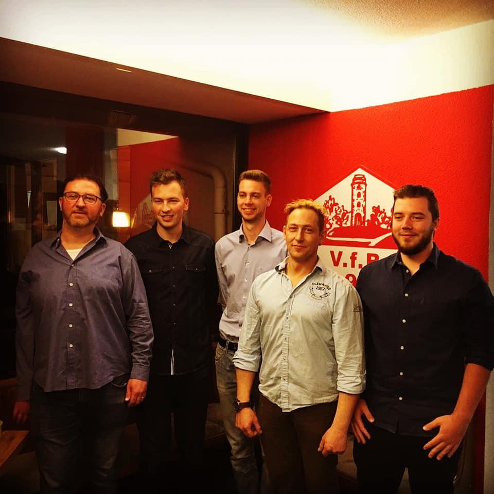 VfB mit neu gewählter Vorstandschaft